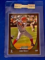 2011 BOWMAN CHROME DRAFT #101 MIKE TROUT ROOKIE RC GEM MINT Sealed #B765712