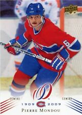 08-09 UPPER DECK MONTREAL CANADIENS CENTENNIAL #51 PIERRE MONDOU *38586