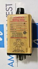 AGASTAT Timing Relay 120v  SCCLC022XXAIXA  2-60m  Used