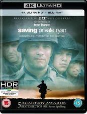 Saving Private Ryan Ultra HD High Definition UHD + Blu-ray (New Sealed 4K)