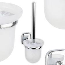 Wenko Glas WC Garnitur Toilettenbürste Klobürste Bürstenhalter Ribera