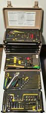 US MILITARY GENERAL MECHANICS Aircraft TOOL KIT 100+ TOOLS CASE BOX KIPPER 11