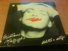 LP CRISTIANO MALGIOGLIO DELITTO E CASTIGO APD2089 EX+/M MAI SUONATO ITALY 89 MCZ