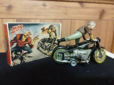 Arnold Vintage German Tin Wind-up MAC 700 Motorcycle Toy w/Box - NO RESERVE !!!