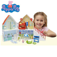 Brand New Peppa Pig Holiday Sunshine Villa Playset with Peppa & George Figures