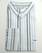 DEREK ROSE MENS NIGHTSHIRT - LARGE - 100% COTTON - RRP. £140 PULLOVER STRIPED