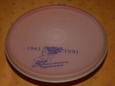 Ancien bol orange Tupperware 30è anniversaire 1961-1991 vintage et rare