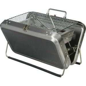 KIKKERLAND Portable BBQ Suitcase - New