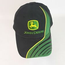 John Deere Baseball Hat Strapback Thick vinyl lines