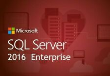 SQL Server 2016 Standard 24 cores Unlimited Cal product key/30 SEC DELIVERY