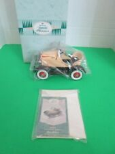 Hallmark Kiddie Classics Peddle Car 1929 Steelcraft Roadster Nib