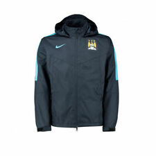 Nike 2015-2016 Manchester City FC Storm Fit Pioggia Giacca Blu Navy Blue XL 688155 476