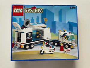 Lego System 6348 Mobile Polizeizentrale SurveillanceSquad komplett mit Poster