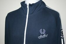 Fred Perry Navy Blue Twin Taped Signature Track Jacket XL/XXL Rare Vintage Top