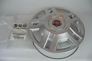 "Original Fiat Hub Cap Wheel Cover For Fiat Ducato 15 "" with Red Fiatemblem"