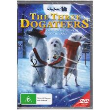 DVD THREE DOGATEERS, THE Save Christmas Dean Cain Family Adventure Dogs R4 [BNS]
