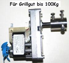 Spanferkelgrillmotor 230V-AC Getriebemotor 2,1 U/min  bis 100 Kg Grillgut.