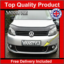 VW CADDY MAXI 10-15 FRONT GRILLE BLACK STAINLESS STEEL MESH ZUNSPORT GRILL LOWER