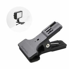 Multi-functional Clamp With Cold Shoe Mount for Nikon Canon Sony Flash Speedlite