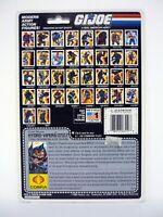 GI JOE HYDRO-VIPER FILE CARD Vintage Figure FULL / UNCUT / AWESOME SHAPE 1988