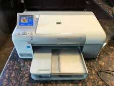 HP Photosmart D7560 Digital Photo Inkjet Printer VERY GOOD CONDITION Inc USB Cbl