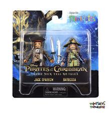 Pirates of the Caribbean Minimates Series 1 Jack Sparrow & Barbossa