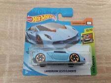 2020 Hot Wheels Lamborghini Sesto Elemento - 1:64 1/64 HW Exotics 10/10 Blue