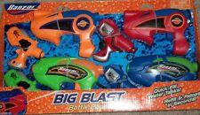 8 Banzai Battle Pack Blaster Water Guns Pool Game Fun Toy Beach Camping Squirt