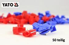 Abzweigverbinder Klemmverbinder Stromdieb rot blau 0,5-2,5 mm² Schnellverbinder