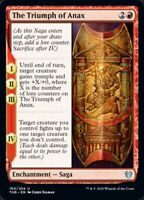 x4 The Triumph of Anax NM MTG Magic Playset Theros Beyond Death SAME DAY HANDLE