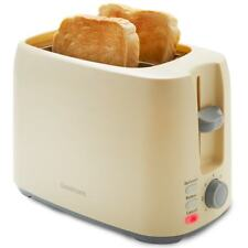 Goodmans 2 Slice Toaster Two With Variable Width Function- Cream-321578