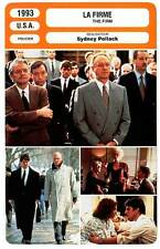 FICHE CINEMA : LA FIRME - Cruise,Tripplehorn,Hackman,Pollack 1993 The Firm