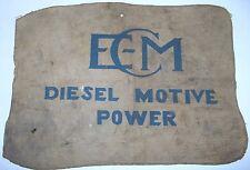ECM diesel motor power cloth towel, vintage_______2033/3