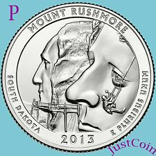 2013-P Mount Rushmore National Memorial Quarter Uncirculated From Mint Roll