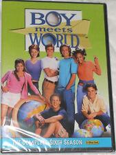 Boy Meets World: The Complete Sixth Season 6 Six - DVD Set NEW & SEALED
