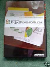 MICROSOFT PROJECT 2003 PROFESSIONAL, FULL RETAIL, SKU H30-00428