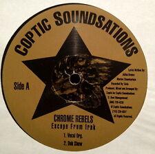"Chrome Rebels – Escape From Irak - 12"" - RANDOM RAP"