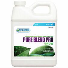 Botanicare Pure Blend Pro Grow 3.78 Litre  Hydroponic Growth Nutrient