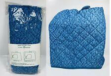 Allary Sewing Machine Cover - Blue Sea-grass