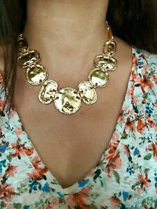 Gold Link Necklace Gold Plated