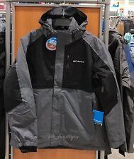 NWT Columbia Men's Rural Mountain II Omni-Heat Interchange 3 in 1 Jacket Large