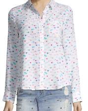 Rails Heart Kate Silk Shirt sz M
