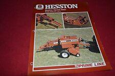 Hesston 4550 Square Baler Dealer's Brochure DCPA2