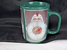 THE FAR SIDE GARY LARSON COFFEE MUG Christmas Santa Reindeer Hit by Airplane