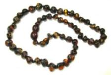 Amber Child Black Necklace 36cm