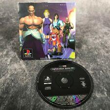 PS1 PlayStation Registration Demo 01 Disc SCED-00637 Tomb Raider Tenka etc Rare