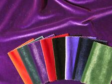 Telas y tejidos de terciopelo 117-150 cm