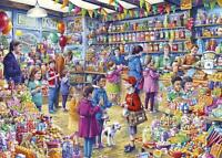 NEW! Gibsons The Old Sweet Shop by Tony Ryan 1000 piece nostalgic jigsaw puzzle