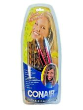 Conair Styling Kit 15 Quick Hair Extensions & Hair Iron Tool Age 5+ - New In Box