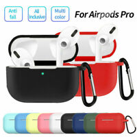 Case For Apple AirPods Pro 2019 Wireless Charging Case Silicone Protective Cover